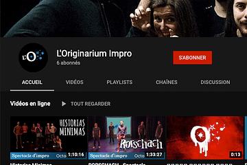 Originarium Impro - Chaîne YouTube